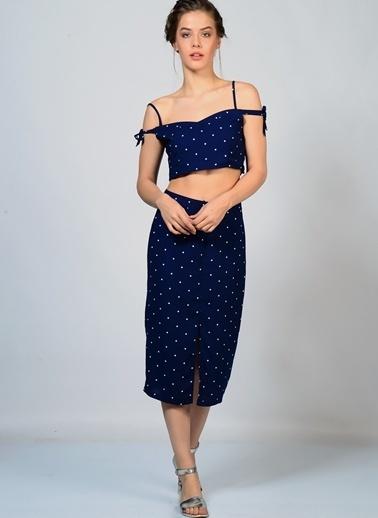 Glamorous Bluz Lacivert